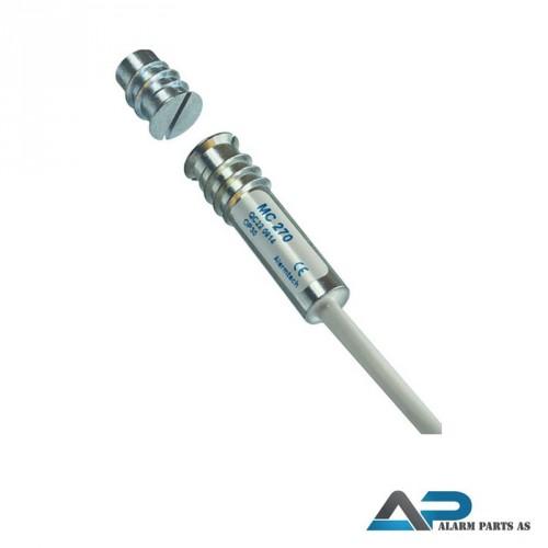 Magnetkontakt høysikkerhet innfelling 2m kabel