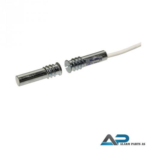 Magnetkontakt for innfelt montering 2m kabel