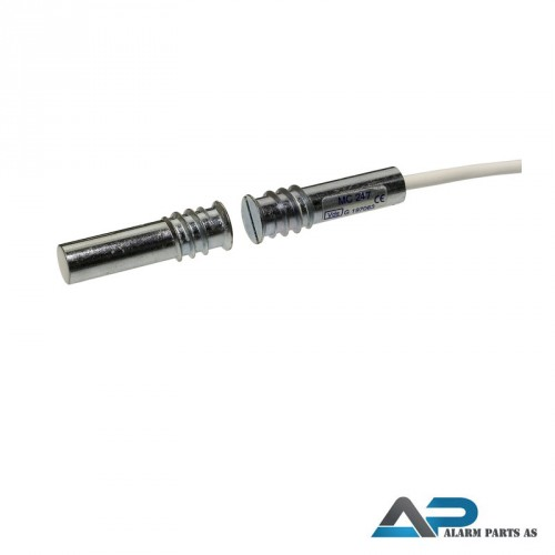 Magnetkontakt for innfelling 2xNC 2m kabel