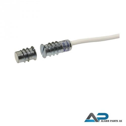 Magnetkontakt for innfelling 2m kabel