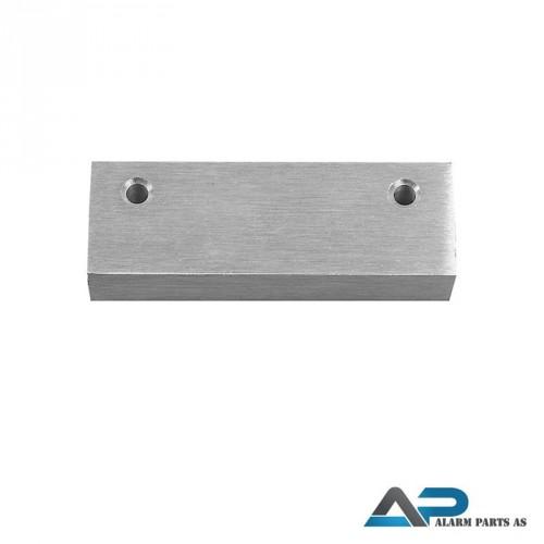 Aluminiumskapsling med sterk magnet