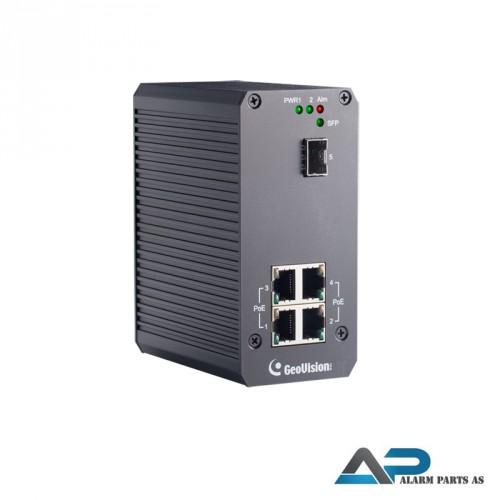 POE0410-E - 4 ports switch