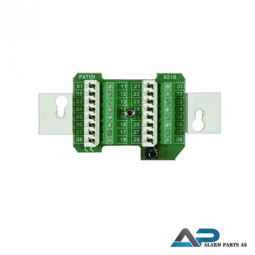 Koblingsplint for montering i veggboks - 10 paknin
