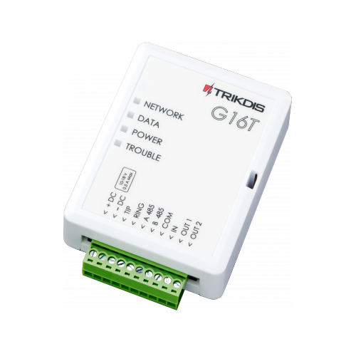 TRIKDIS G16T - GSM-modul med mobilapp