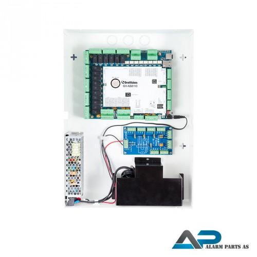 AS8110 Dørkontrollenhet 8 dører i stålkabinett