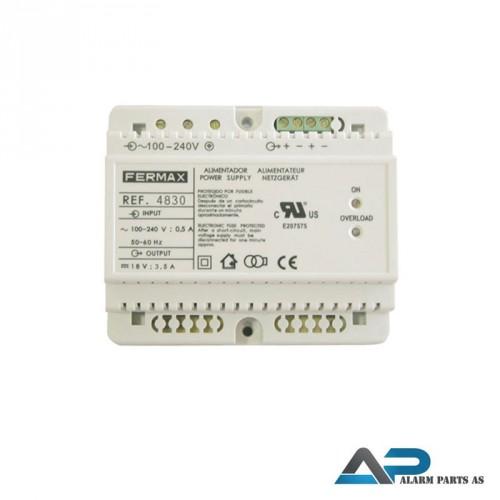 4830 Strømforsyning DIN-6 100_240Vac - 18Vdc - 3,5