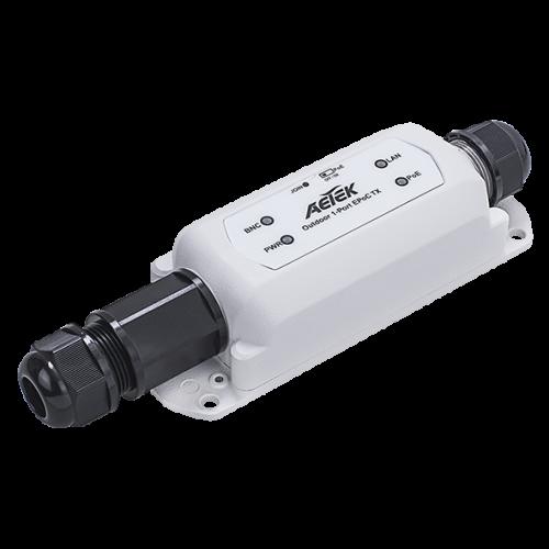 XE22-110-TX Utendørs 1-port Ethernet over Coax TX adapter.