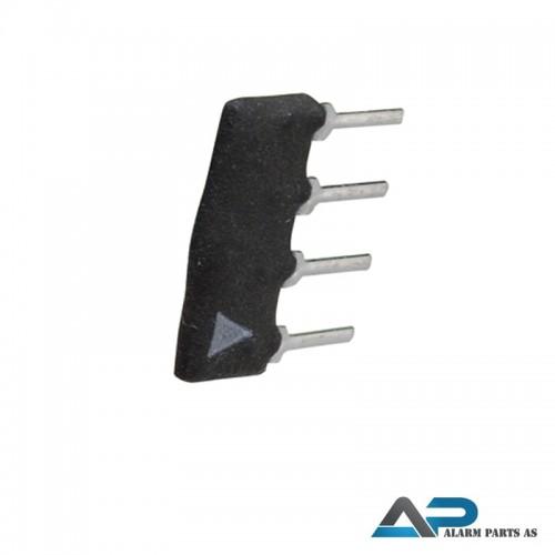 PEU-C Seriemotstand 1K - 1K - 12K for ARX 100 stk