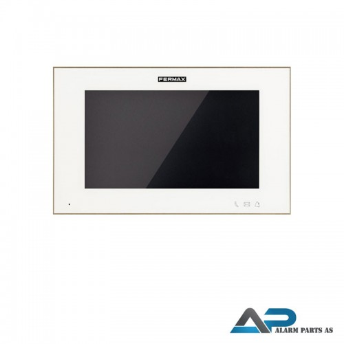 14701 WIT 7_ Svarapparat touch screen PoE- Hvit