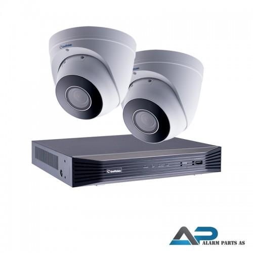 KIT0007 - 8 kanals 2TB NVR med 2 x EBD4711