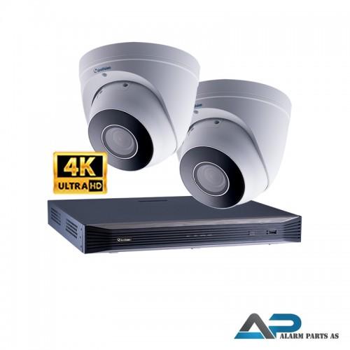 KIT0012 - 16 Kanals 2TB NVR med 2 x EBD8711