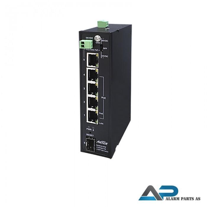 H32-042-30 Industrial Gigabit Adjustable 24V_56VDC