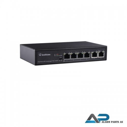 APOE0400 PoE Switch 6 port 10_100M +