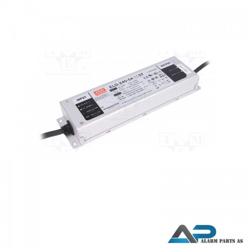 EGL-240-54 Utendørs strømforsyning 54VDC 150W IP67