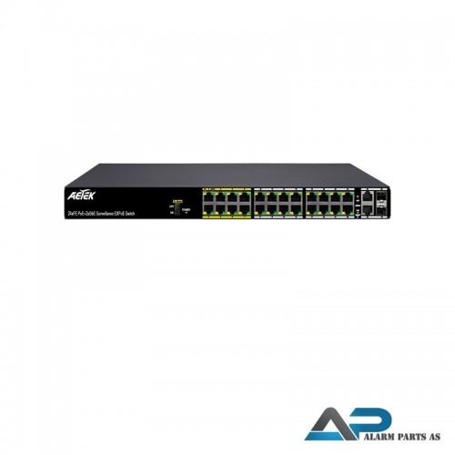 C11-242-30-380 - 24xPoE FE+2xGbE Combo EXPoE Switc
