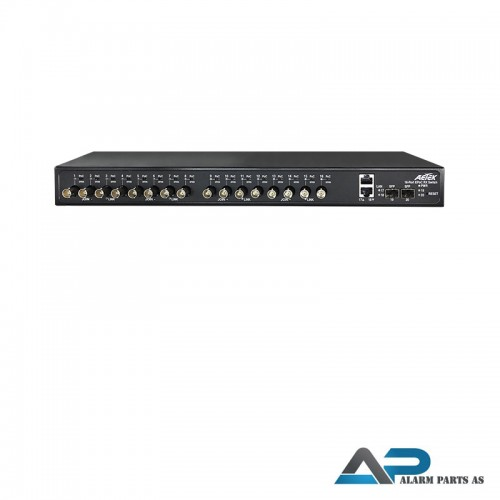 XC10-164-750 EPoC switch 1 x LAN 16 x BNC for IP o