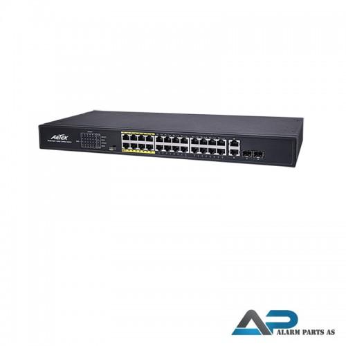 C11-242-31-380 - 24xPoE FE+2xGbE Combo EXPoE Switc