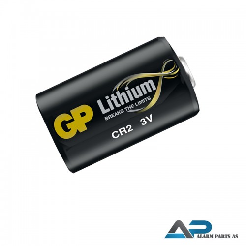 DR2 Litium batteri 3V 750mAh