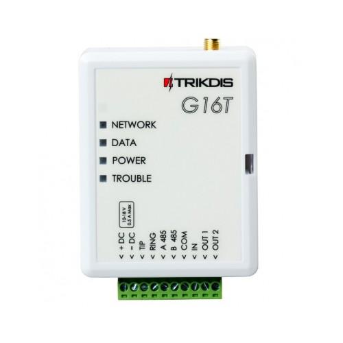 TRIKDIS G16T 4G/LTE modul med App og SIA-IP/DC-09.