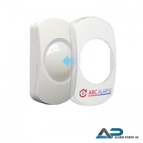 Firmalogo og plastdeksel til Capture detektorer 20