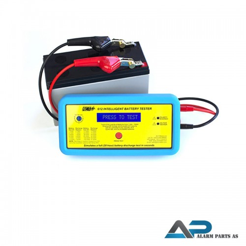 ACT612 Batteritester for 6V_12V batterier 1,2Ah -
