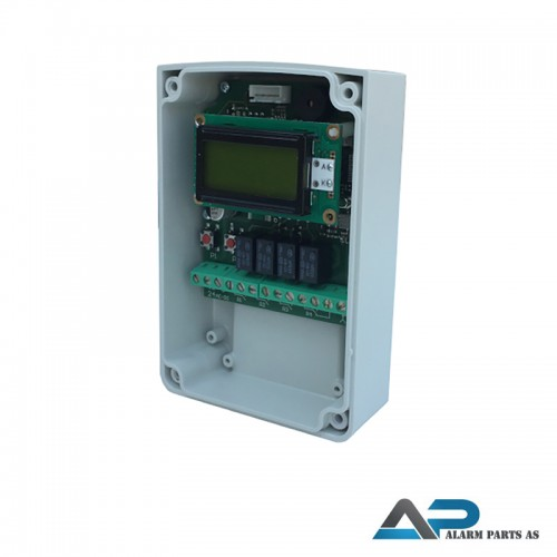 XPL500-4 Radiomottaker 4 x reléutganger