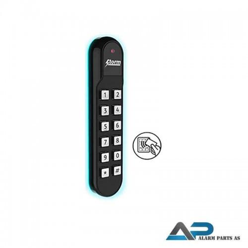 AXS S60 Kodetastatur med 13,56 MHz leser