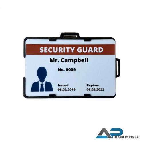 93101 ID-kortholder med alarmtrykk Bluetooth